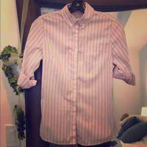 Banana Republic pink shirt